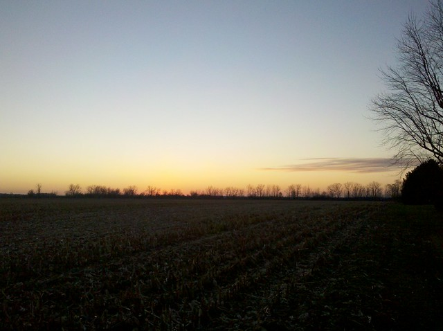 Upper Sandusky sunset