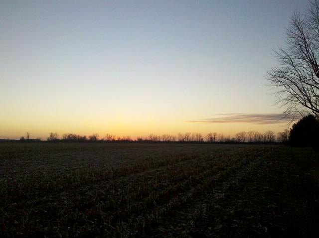 Upper Sandusky sunset