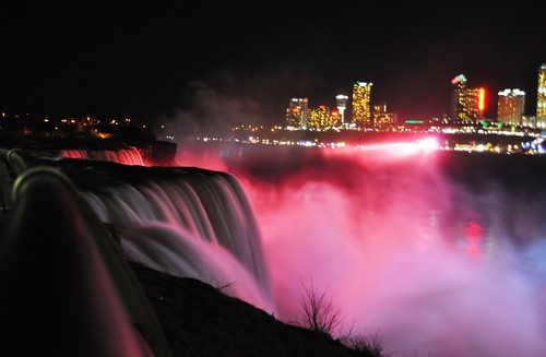 American Side of Niagara Falls, Dec. 26, 2011