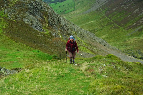 20110923-06_Climbing ridge to Robinson above Scope Beck Valley by gary.hadden