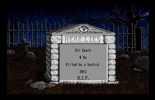 Rogue Death Screen Amiga