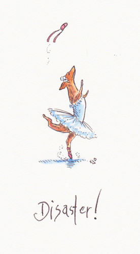 Illustration Friday: Twirl