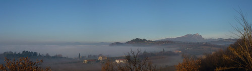 La Rocca & Pizzocolo in the fog