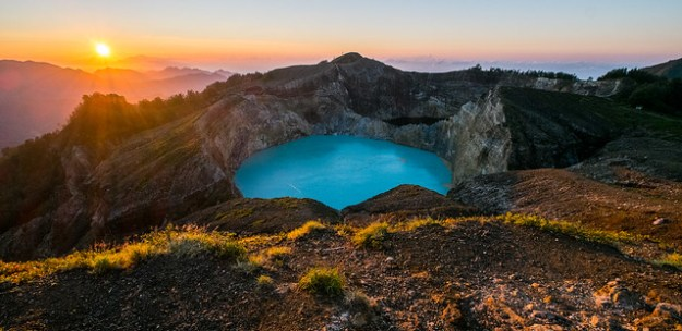 Sunrise. Kelimutu