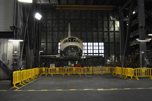 Take a KSC Up Close Tour to See a Space Shuttle in the VAB for a Limited Time