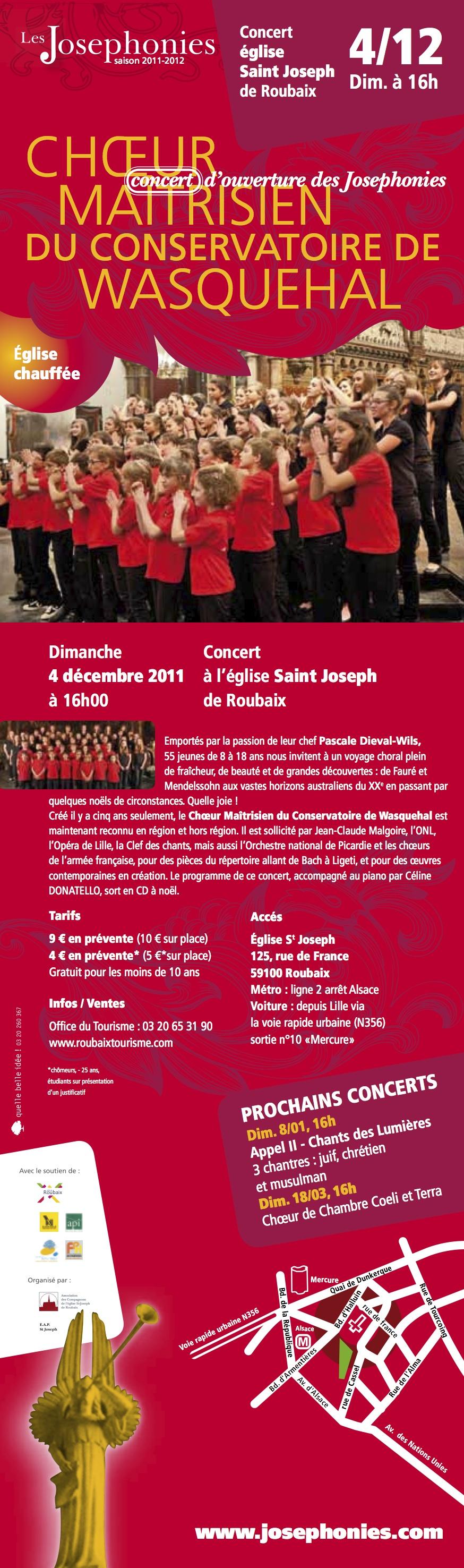 Josephonies 4 decembre 2011