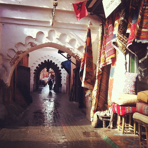 Souk archway