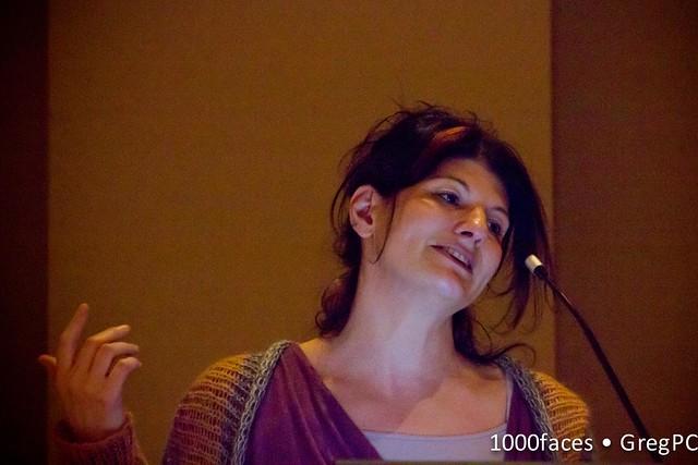 Face - woman tilting her head
