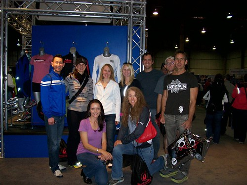Twitter Gang at 2011 RnRLV Expo