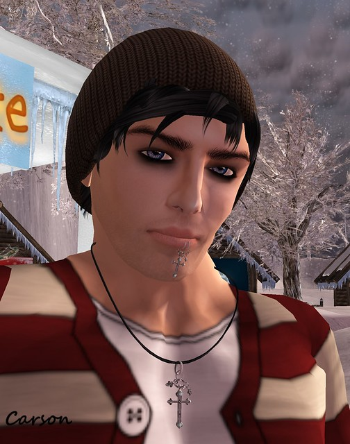 VERO MODERO - James V3 Skin, JDDESIGN - Cross Neclace & Mouthpiercing, Xplosion - Beenie