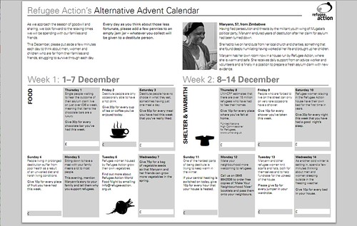 Twitter Advent Calendar: Day 16, Alternative Advent