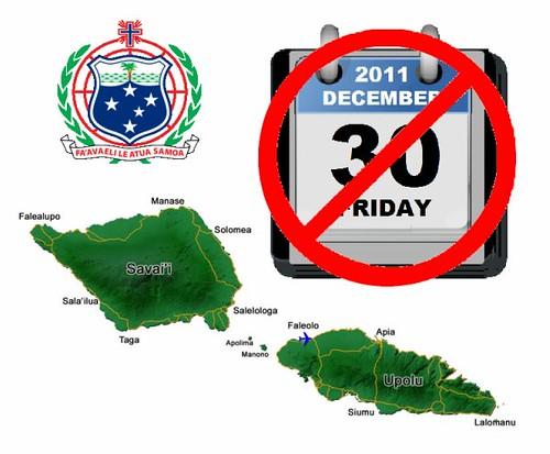 Samoa Takes a Day Off
