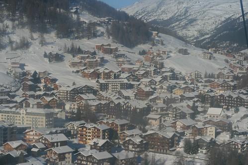Saas Fee village