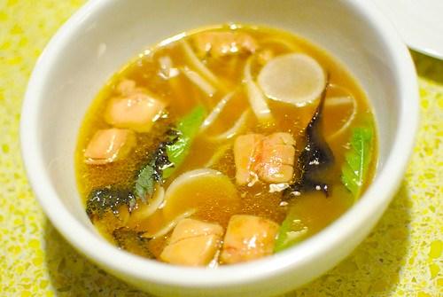 Foie Gras, Tamarind, Turnips, Daikon