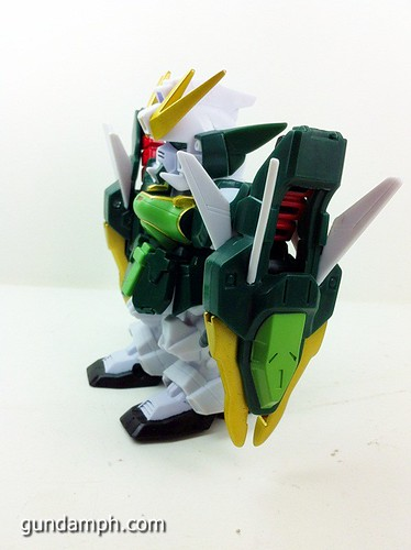 SD Gundam Online Capsule Fighter ALTRON Toy Figure Unboxing Review (12)