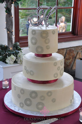 Wedding cake at Raspberry Plain