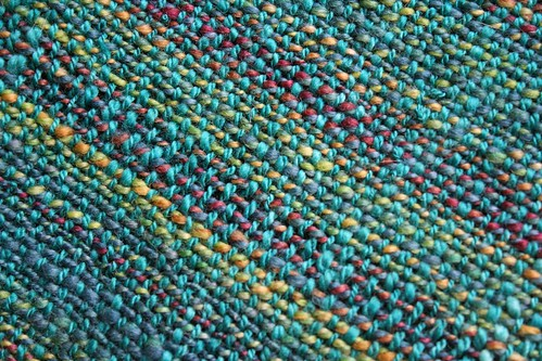 weaving :: handspun child's scarf