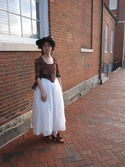 1780s Cotton Jacket and Embroidered Petticoat