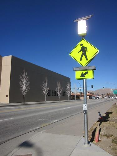 New Pedestrian Crossing on Stewart Street
