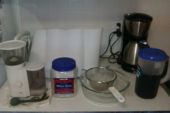 Cold Brew Coffee Setup