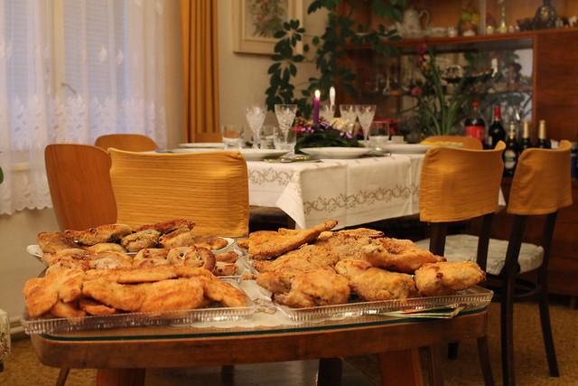 Czech Christmas dinner