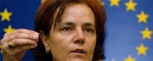 Loyola de Palacio. Comisaria europea.