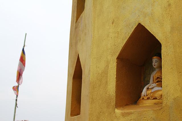 Buddha statue - Mount Popa