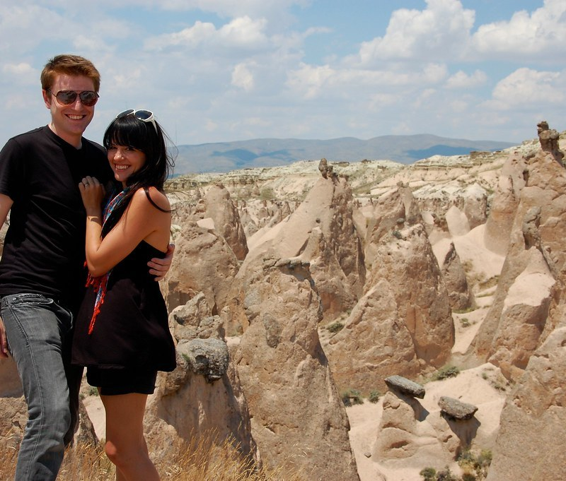 Us in Cappadocia