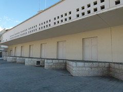Vista lateral del Centro de Arte Contemporáneo de Málaga