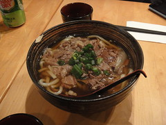 Niku udon (beef) at Manpuku
