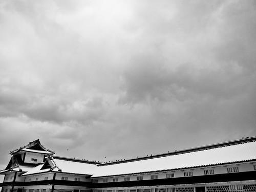 Kanazawa Castle. 金沢