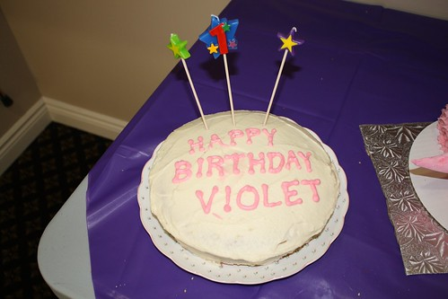 Happy Birthday, Violet!