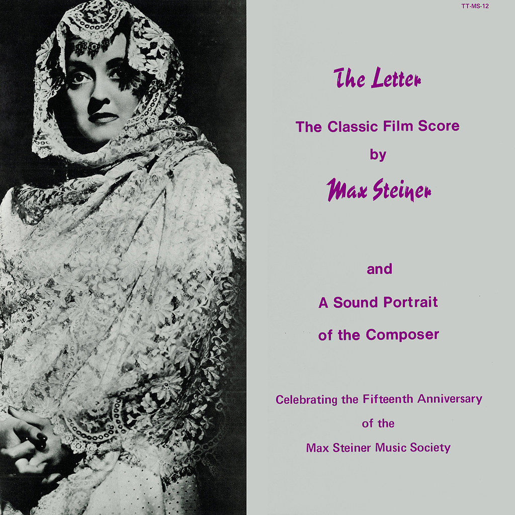 Max Steiner - The Letter