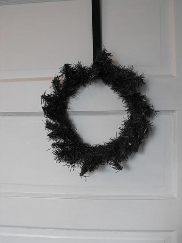 Snowman wreath 1