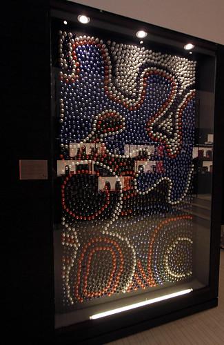 Indigenous art piece from the Jumbana Group
