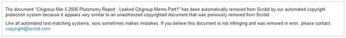 Scribd - plutonomy report taken down automatically