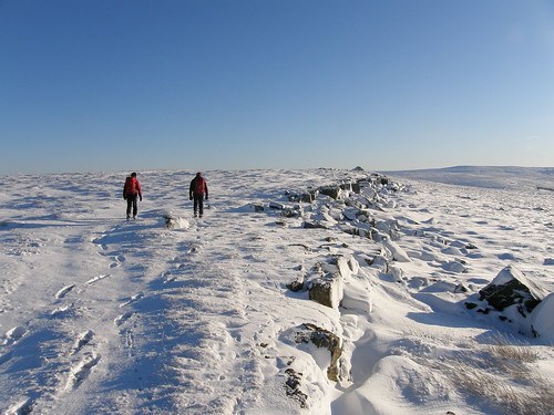 Approaching the cairn