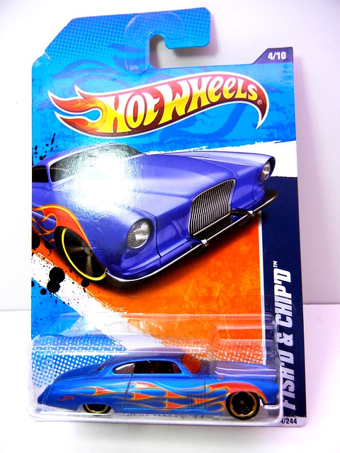 HOT WHEELS FISH'D & CHIP'S SATIN (1)