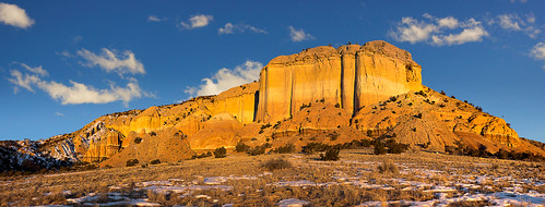 Abiquiu: Sunrise cathedral