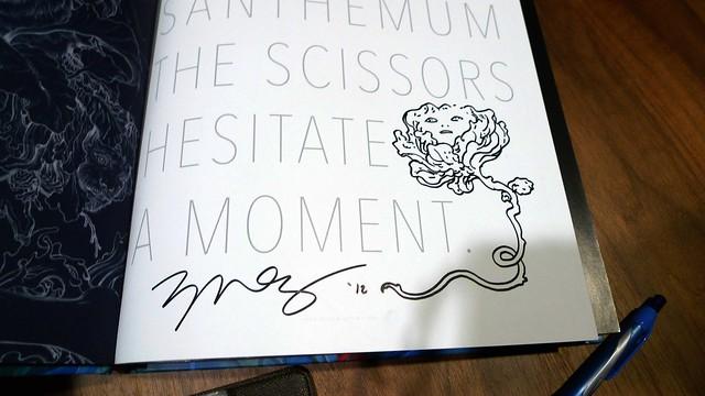 James Jean autograph
