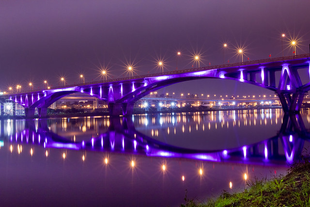 Light up Taipei Bridges-萬板大橋 | Flickr - Photo Sharing!