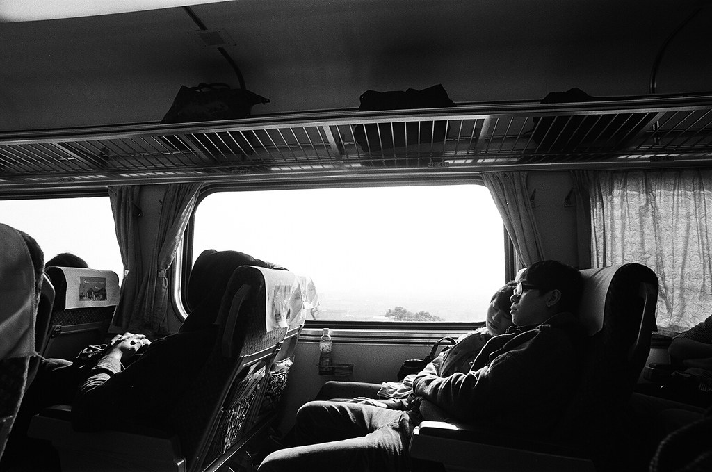 Train To Taichung B&W