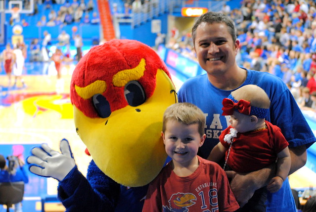 Rock Chalk Jayhawk! Go KU!