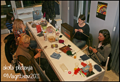 knitting school november 2011.