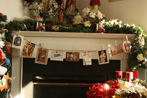 Christmas Mantle II