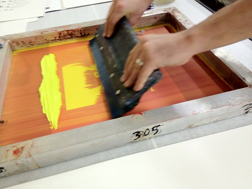 12 Dates of Christmas Screen Printing Class