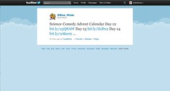 Twitter Advent Calendar: Day 21, Science & More Science