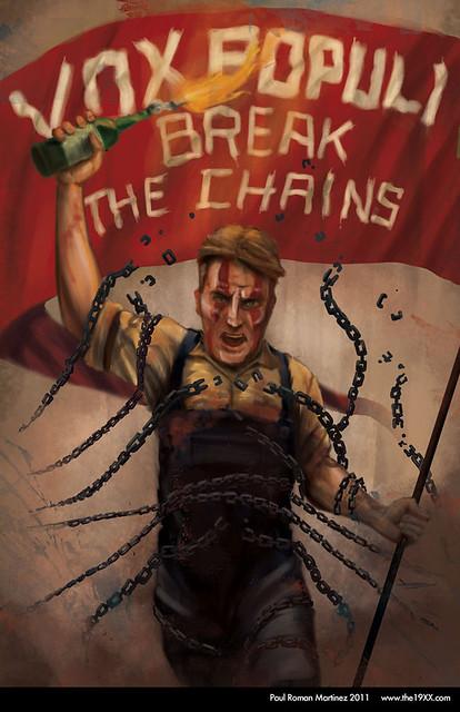 Vox Populi - Break the Chains / Bioshock Infinite by Paul Roman Martinez
