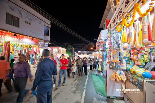 Mount Abu streets.
