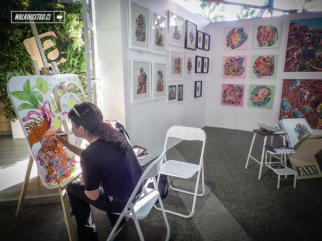 FAXXI 2014, feria de arte visual con los mejores artistas de Chile en el Parque Bicentenario de Vitacura en Santiago